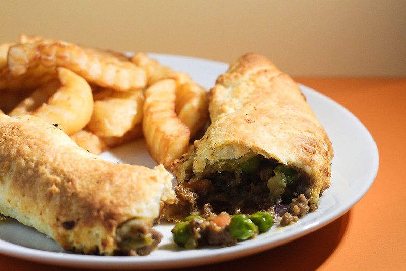 Budget Cornish pasty rolls recipe for students