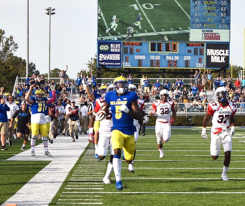 Blue Hens stun richmond in double overtime