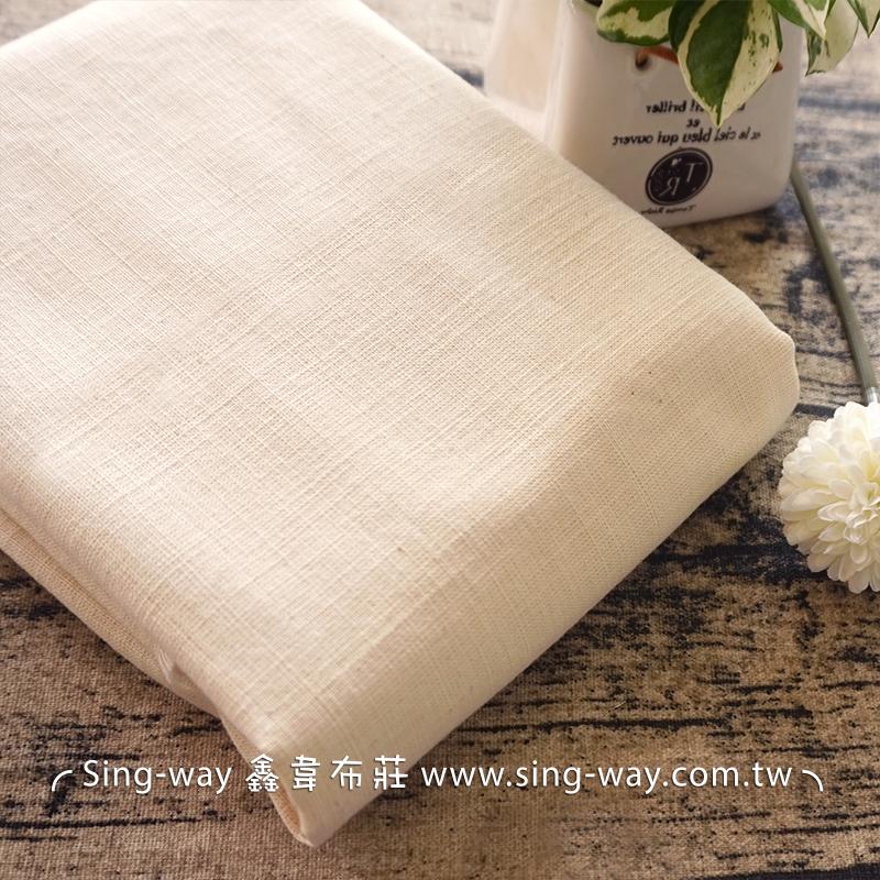 2C240108 素面節紗原胚 棉質胚布 4尺1