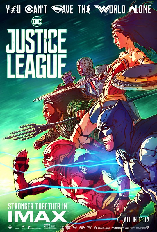 JUSTICE LEAGUE IMAX Movie Poster