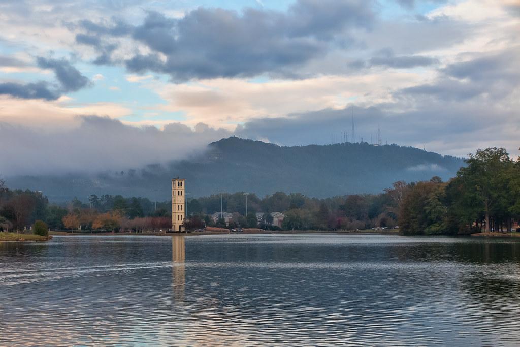 Evening at Swan Lake
