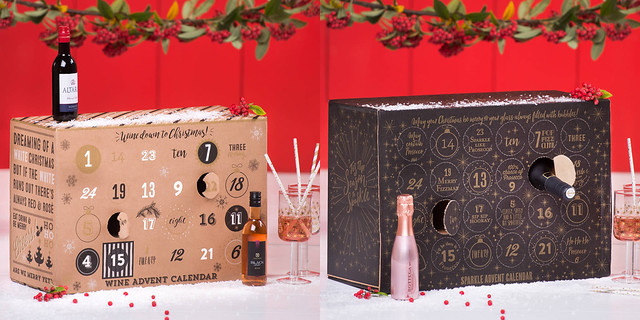 Wine & Prosecco Advent Calendars 2017