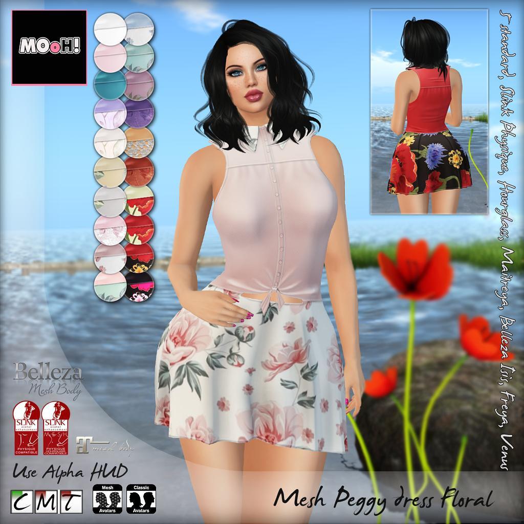 Peggy dress floral