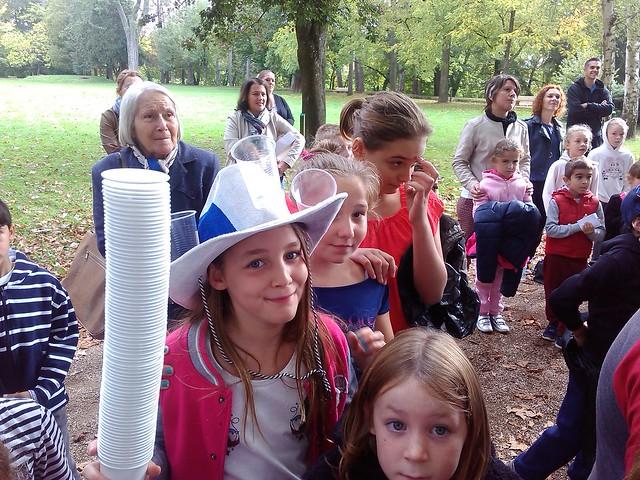 L'école de Thoissey a organisé une course coopérative