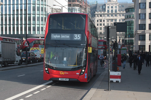 Go-Ahead London EH116 SN66WOB