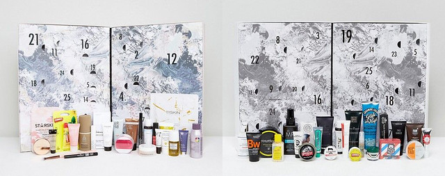 ASOS His & Her Beauty Advent Calendars 2017
