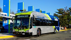 Montgomery County Transit Ride On extRa 2017 Gillig Low Floor BRT Plus Diesel #44058D