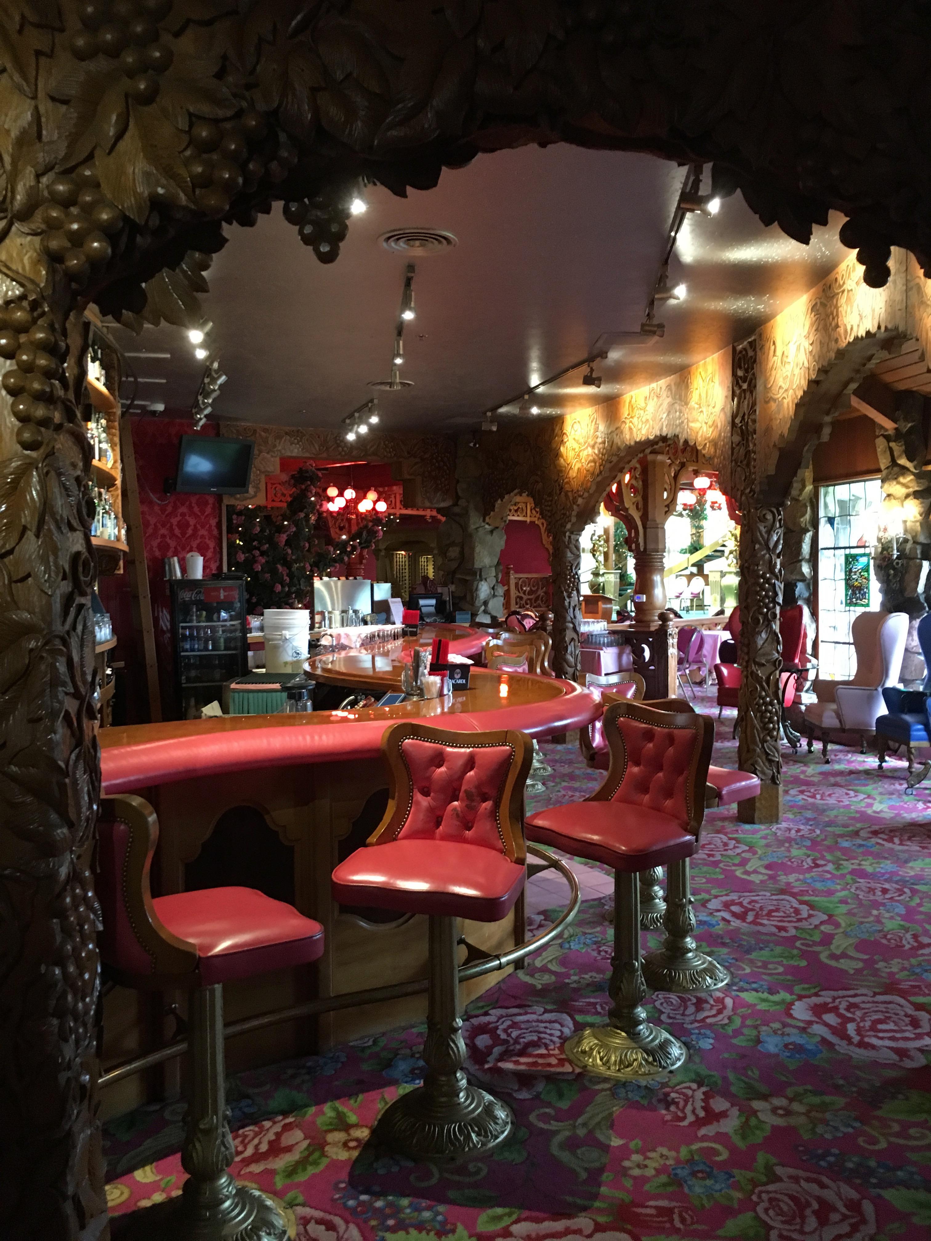 Madonna Inn - bar