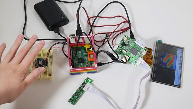 caméra thermique à base de Raspberry Pi