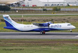 F-WWEF ATR72 Indigo