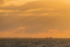 Denmark at sunset