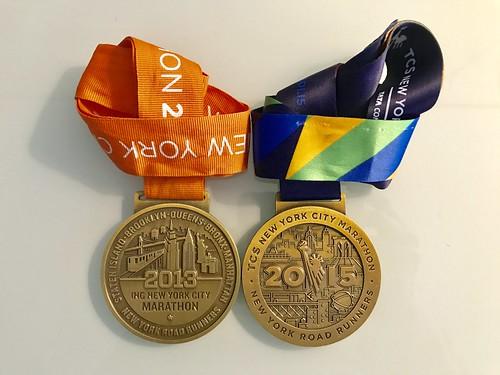 Medalla Maratón de Nueva de York