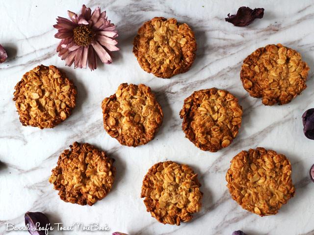 全素燕麥餅乾 (無麵粉) vegan-glutenfree-oatmeal-cookies (1)