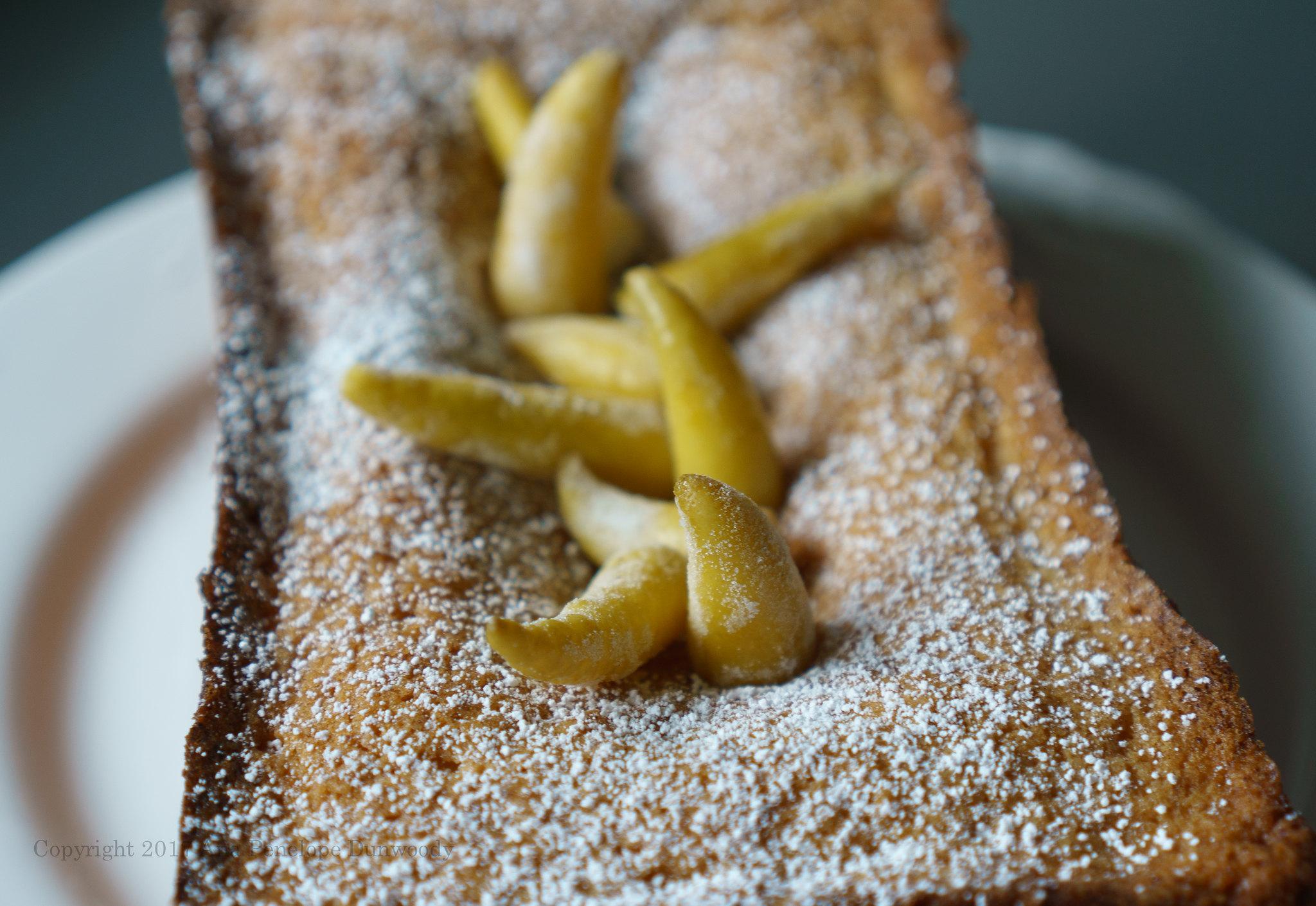 Buddha's Hand Madeira Cake