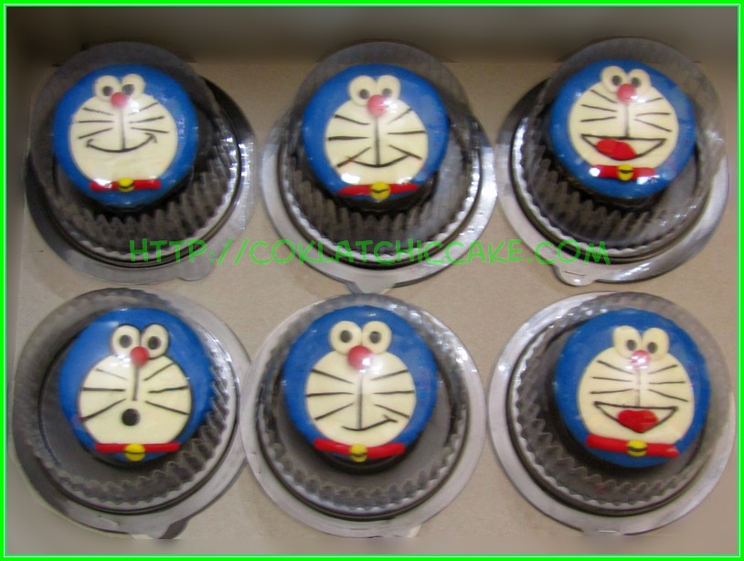 Cupcake doraemon