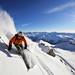 Davos je podle mínění redaktorů časopisu SNOW jedním z nejlepších švýcarských míst pro freeride, ačkoli nepatří mezi nejvýše položená střediska. , foto: Switzerland Tourism