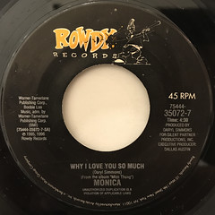 MONICA:WHY I LOVE YOU SO MUCH(LABEL SIDE-A)