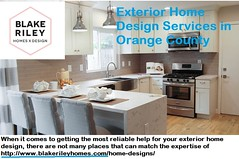 Exterior Home Design Services in Orange County - www blakerileyhomes