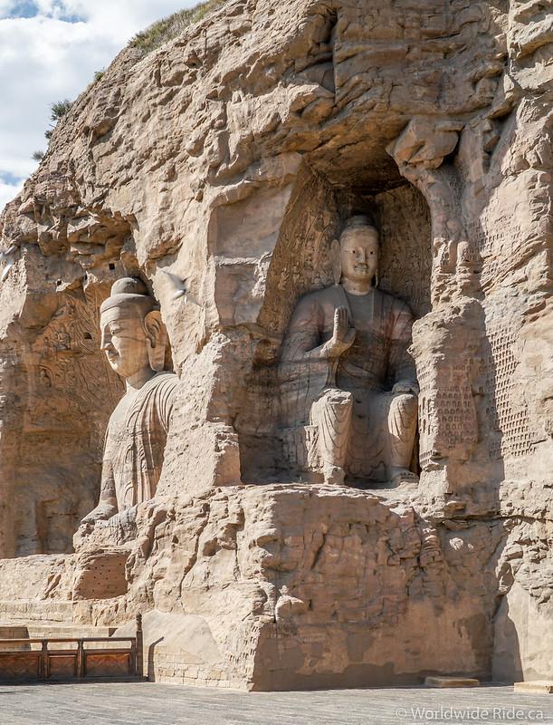 China Datong Grottos-19