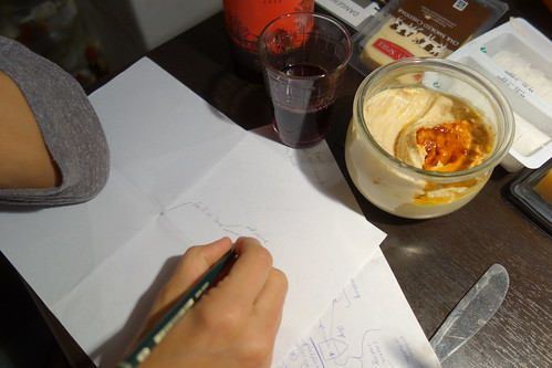 Wine, hummus and how to make people fall in love with an e-textile tailor shop?