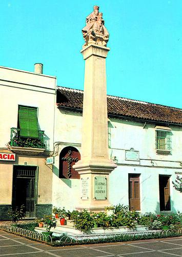 El monumento de Nuestra Señora de Valme