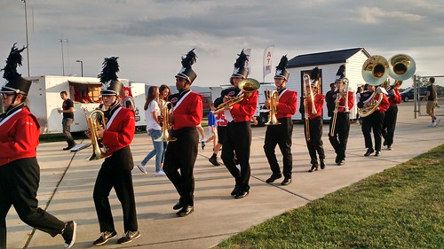 Aug 25 2017 Clark Marching Band