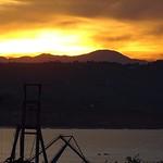 Sunset & UFO
