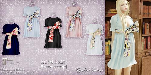 KC*M No.28[ Kimono wrap]all