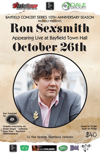 ron sexsmith OCT26