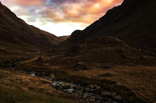 Sunset, Honsiter Pass