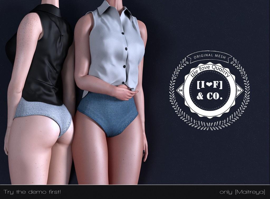 [I<3F] Outfit [03] [@Black Fair 2017] - TeleportHub.com Live!