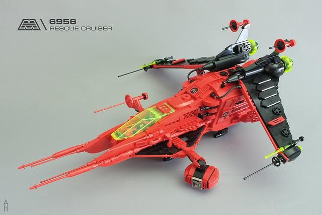 Neo 6956 M-Tron Rescue Star Cruiser