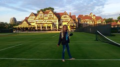 Violet On The Grass Courts