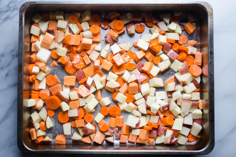 Roasted Veggie Breakfast Bowls (Paleo and Whole30 Friendly)