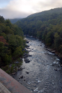 Yough at Ohiopyle from GAP trail