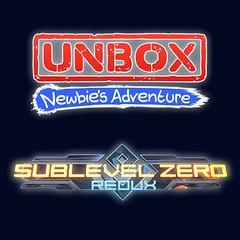 UNBOX: Newbie's Adventure and Sublevel Zero: Redux
