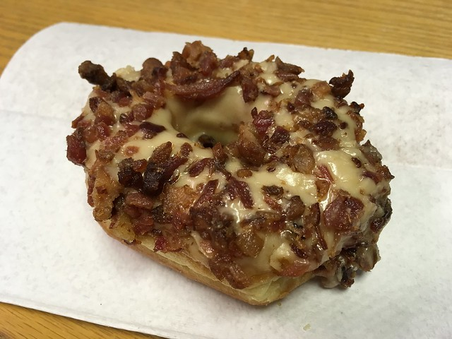 Bacon maple donut - Gibson's Donuts