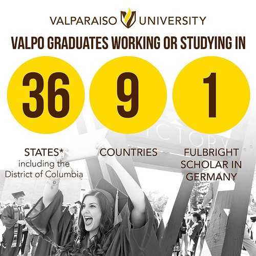Valpo graduates are making a difference across the country and around the world! Where will Valpo take you? #GoValpo