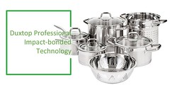 Stainless Steel Cookware Set Review : Duxtop Professional Stainless Steel Cookware Set Review