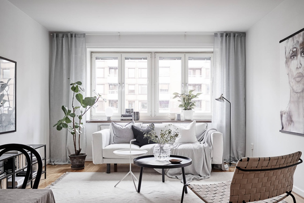 Light and Airy Swedish Minimalist Home