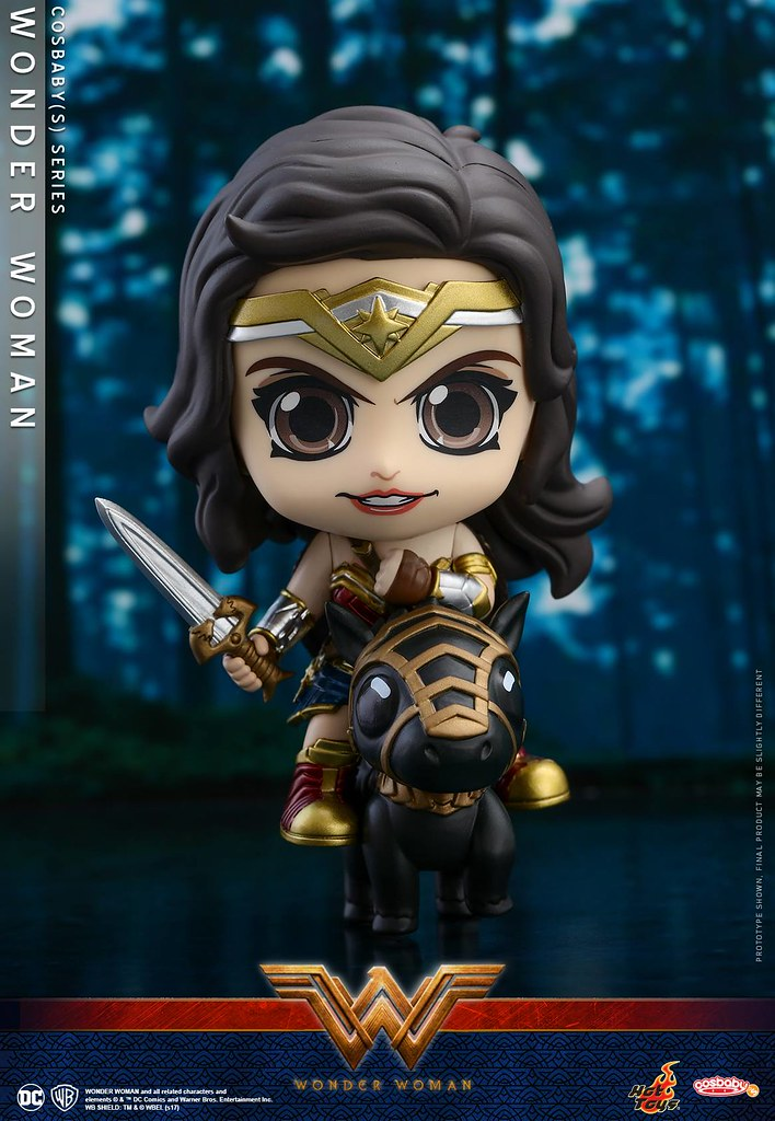 各種面貌的可愛女神一次全擁有!!Hot Toys - COSB417-419【神力女超人】Wonder Woman Cosbaby Series