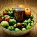 Chutney de tomates vertes, pommes & raisins      _DSC9787_v1