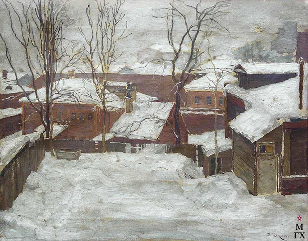 瓦西里·巴克舍耶夫画作选8