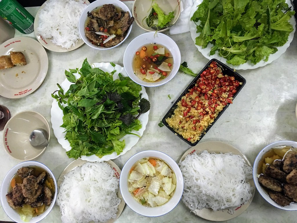 Bun Cha - Food of Hanoi