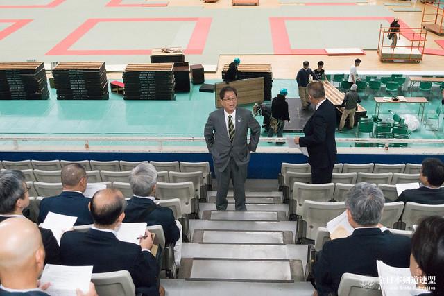 第65回全日本剣道選手権大会係員打ち合わせ会風景_002