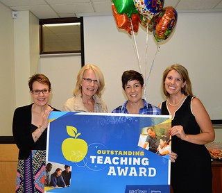 Dr. Hostler - Outstanding Teaching Award