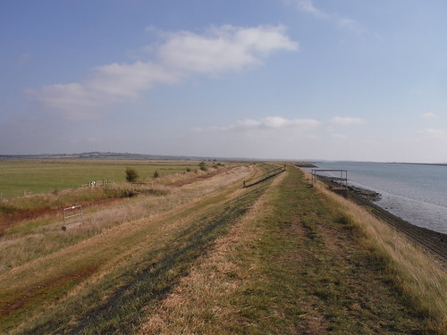 Seawall on River Crouch