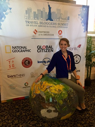 Dacey Loving. #StudyAbroadBecause A Globally Minded World is a Peaceful World. From the Travel Blogger Summit on Study Abroad and Global Citizenship