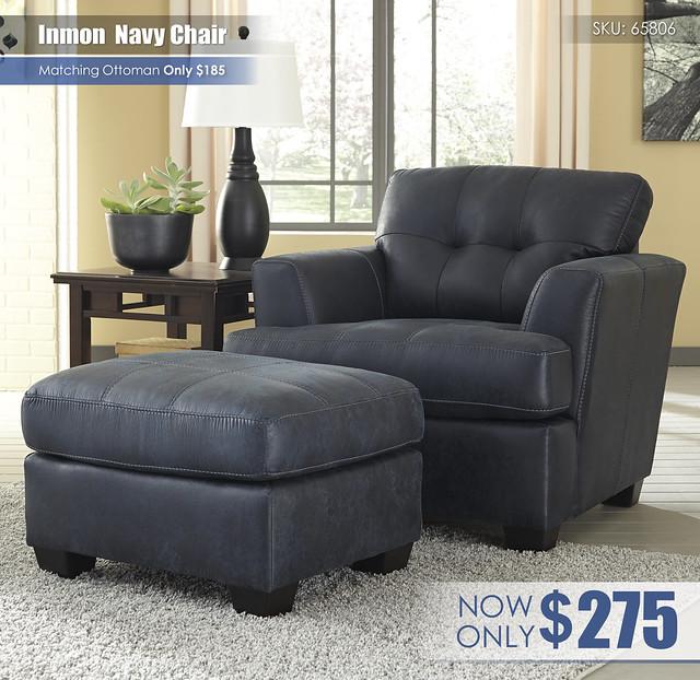 Inmon Navy Chair 65806-20-14