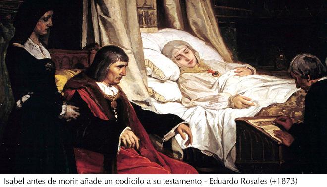 Testamento de Isabel la Católica